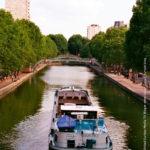Paris ► Canal Martin ► Photographed by Gerhard-Stefan Neumann ►