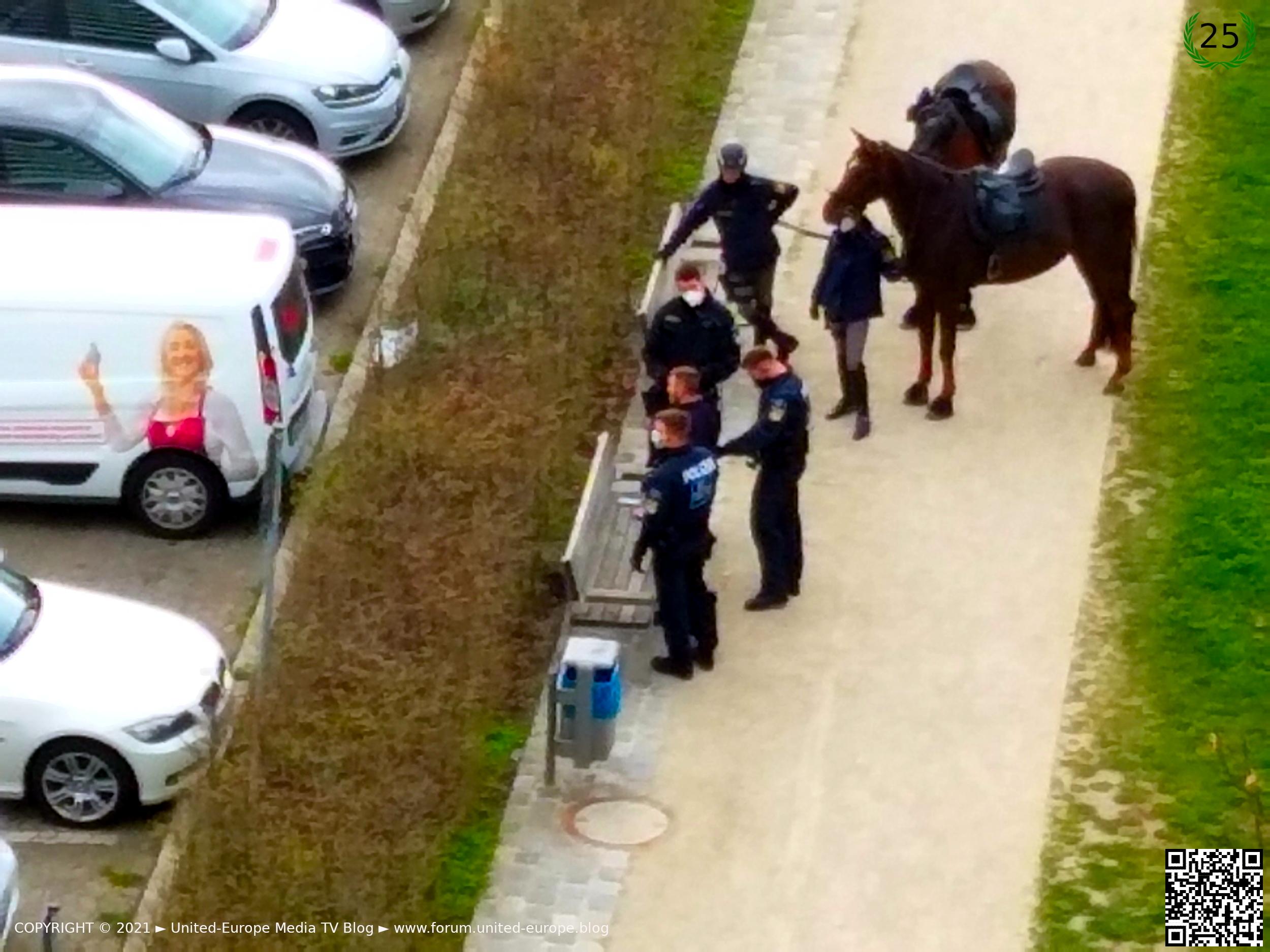 Stadt Nürnberg ► Handfeste Rangelei mit der Polizei an der Wohnanlage Norikus ► Ein Film von Gerhard-Stefan Neumann ►