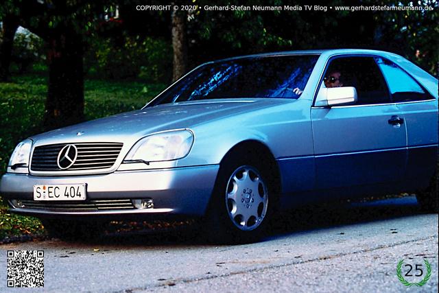 Ein Traum auf vier Rädern ► Das S 500 Coupe von Mercedes-Benz ► Von Gerhard-Stefan Neumann ►